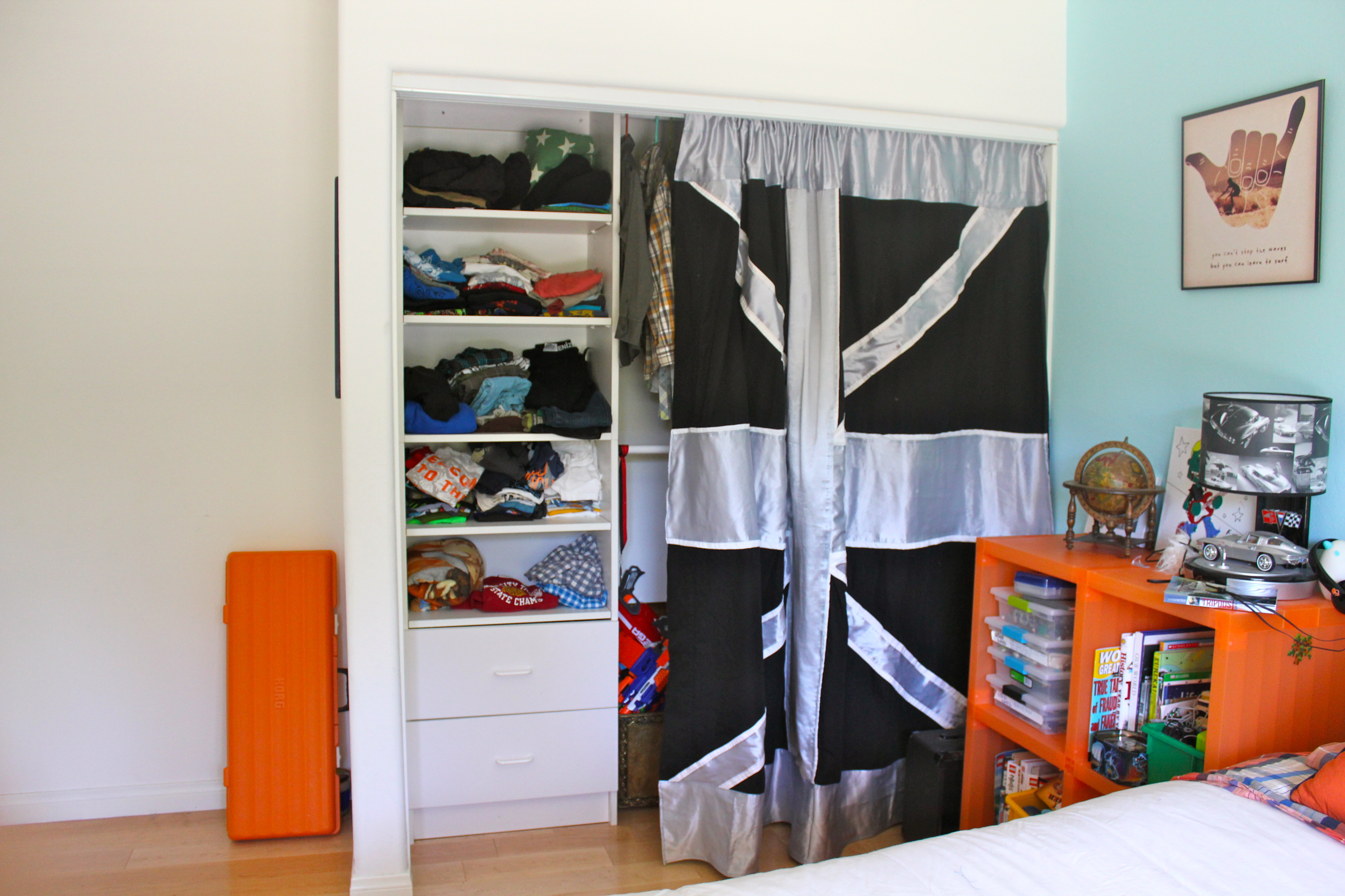 Modern closet curtains - Img_6063